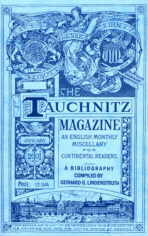 The Tauchnitz Magazine